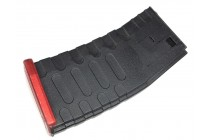 High Cap M4 U Mag Red